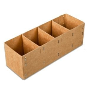 Spare Parts Box <br> 4 Compartments (Bundle of 10)