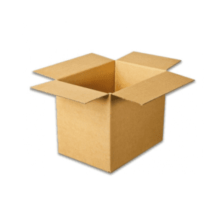 A4 Short Packing Carton  Brown (Bundle of 25)