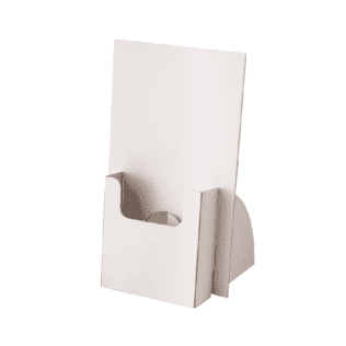 A6 Brochure Holder  White (Bundle of 10)
