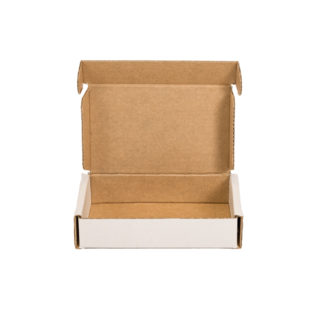Micro Mailing Box White (Bundle of 25)