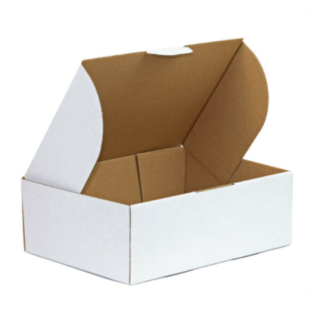 AP Small Mailing Box White (Bundle of 25)