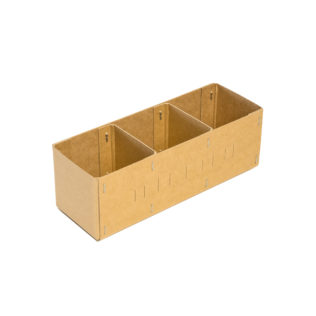 Spare Parts Box  3 Compartments (Bundle of 10)
