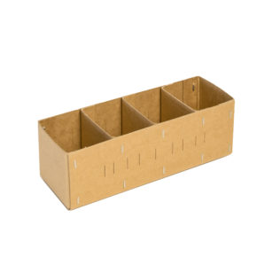 Spare Parts Box  4 Compartments (Bundle of 10)