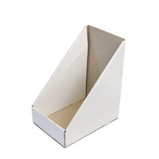 Counter Display Box  White (Bundle of 25)