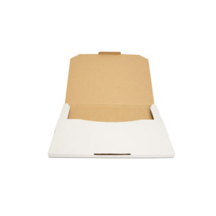 Large Flat Mailers White (Bundle of 25)